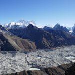 Gokyo Ri – Blick zum Mt. Everest – Nepal Trekking mit berghorizonte