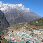Namche Bazzar im Everest Gebiet – Haupstadt der Sherpa