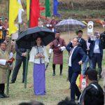 Die Royals zu Besuch in Bhutan – und unsere Gäste mitendrin