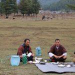Picknick in Bhutan