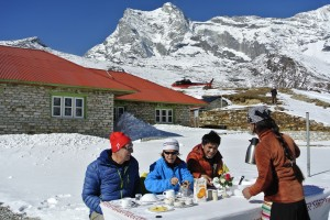 Nepal Everest Heli Trekking nach Kongde
