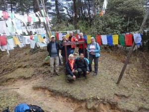 Bhutan Bumthnag Trek am Febile La Pass 3500m