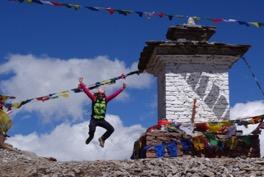 berghorizonte Gäste auf dem Linghi Laya Trekking in Bhutan