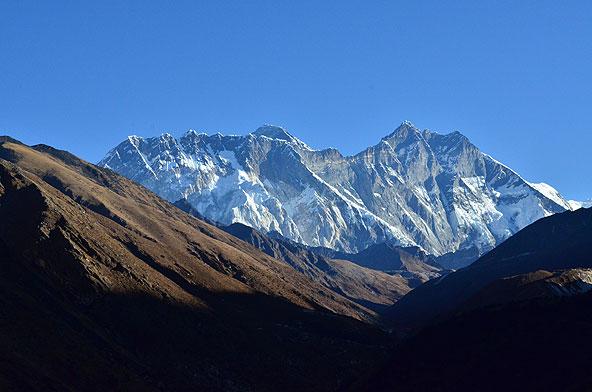 Blick zum Everest