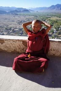 Ladakh-Reise: Mönch in Leh - Ladakh