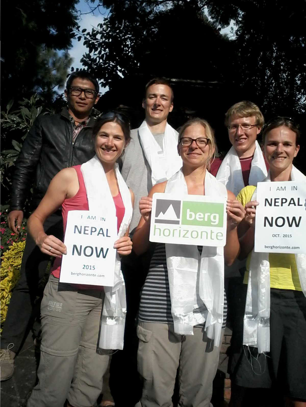 Nepal berghorizonte Gäste im Herbst 2015 |