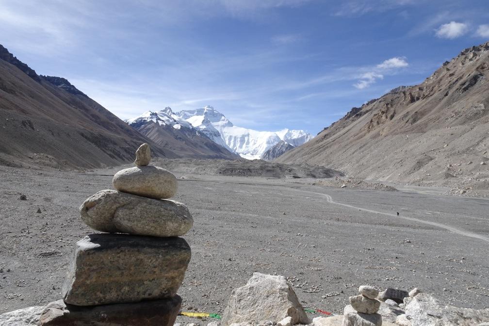 Mt. Everest von der Nordseite | Tibetreise im Herbst 2015