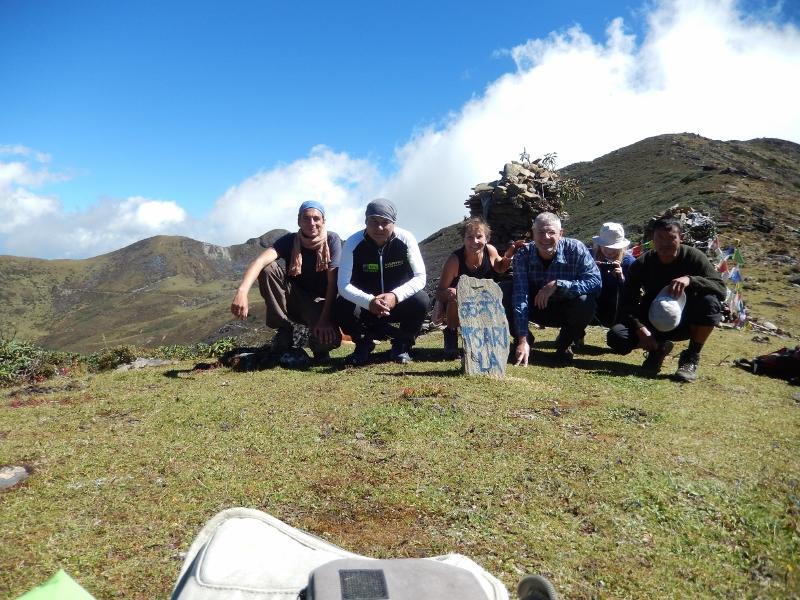 Unsere Gäste auf dem Dagala Trek in Bhutan!