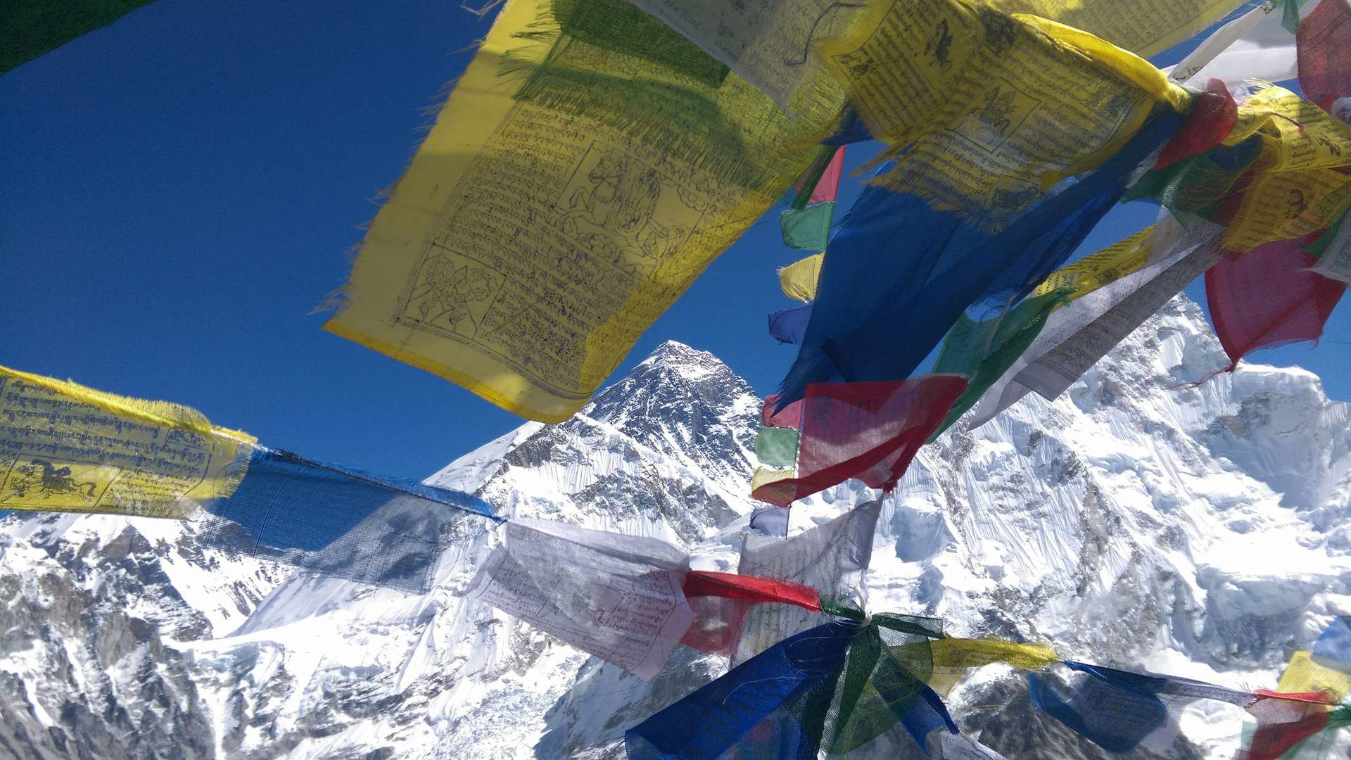 Nepal - Mt. Everest vom Kalar Pattar (5.550m)