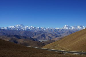 Einzigartige Blick zum Mt. Everest