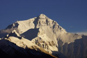 Everest Base Camp Nordseite - Blick zum Mount Everest