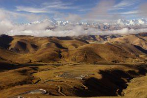 Beste Passstrassen in Tibet und tolles Panorama