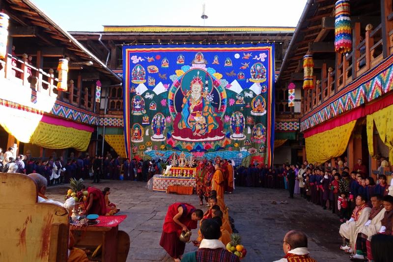 Bhutan - Klosterfeste