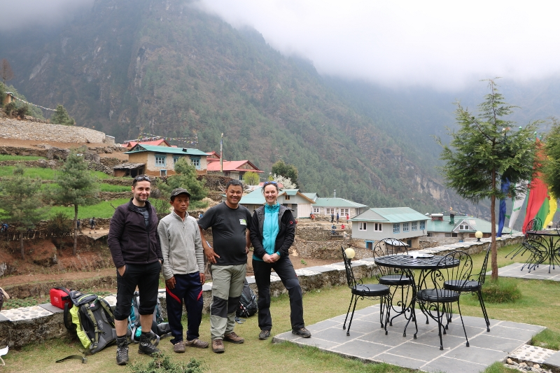 Trekking ins Everest Gebiet