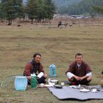 Picknick in Bhutan