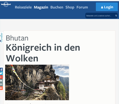 berghorizonte bei Lonely Planet